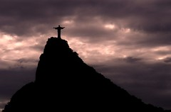 Cristo Redentor visto do Mirante