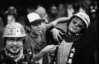 Fuji Rock Helmets