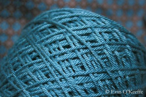 Admiring Spun Turquoise
