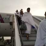 Pilgrims arrive in Jeddah