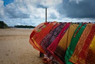 Sri Lanka beach scene