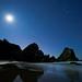 Oregon Coast - Stars by Jesse Estes