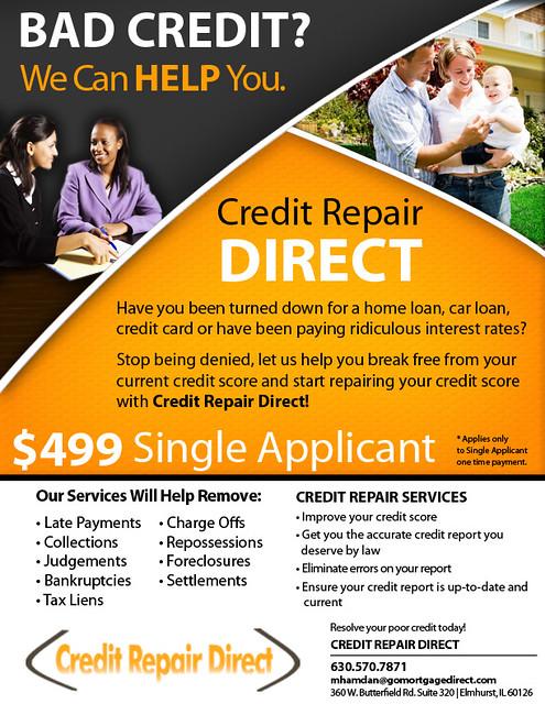 Credit Repair Credit Repair Flyer