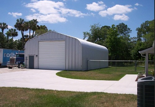 Steelmaster prefabricated metal storage building flickr for Prefabricated outdoor buildings