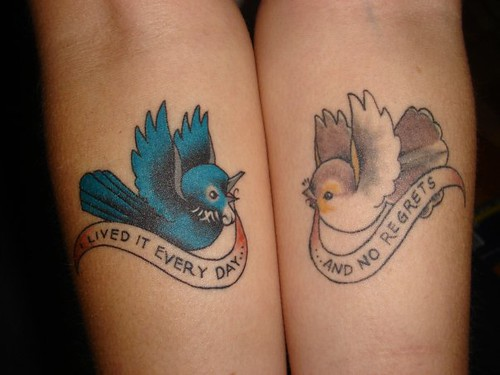 my tui and fantail tattoos flickr photo sharing. Black Bedroom Furniture Sets. Home Design Ideas