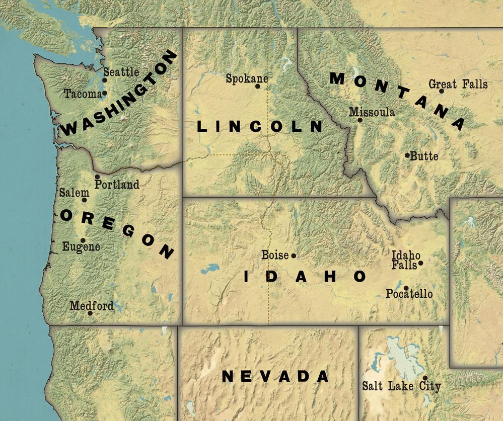 NationStates Dispatch Washington Oregon California Idaho