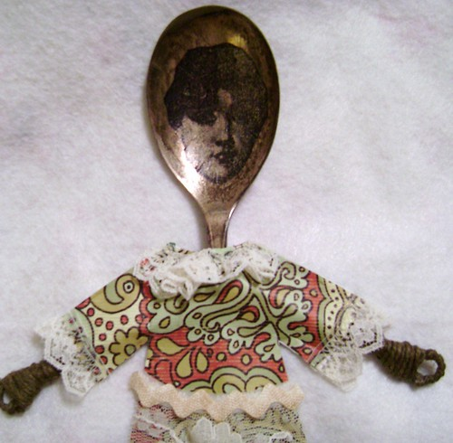 Altered Spoon Doll