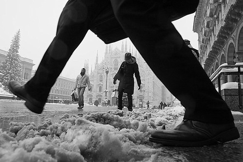 L.a. snow in milan
