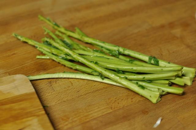 kale stems