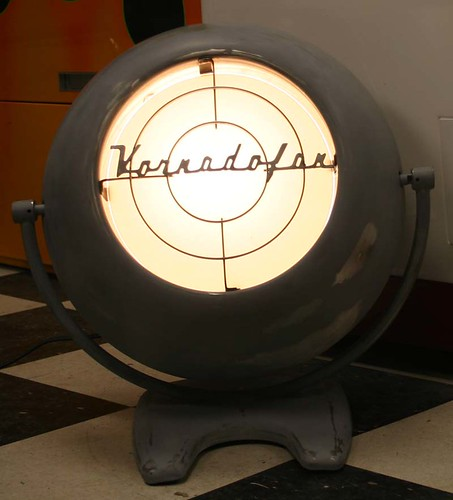 Vornado Fan Into Lamp Project