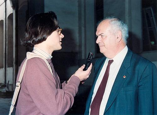 Antoni Subirà a Calella 1992