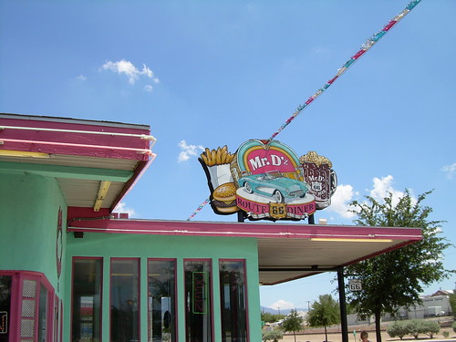 Mr. D's Route 66 Diner Kingman Arizona