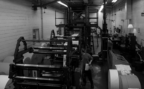blackandwhite ink paper print newspaper fast daily press pressroom newsprint pressrun
