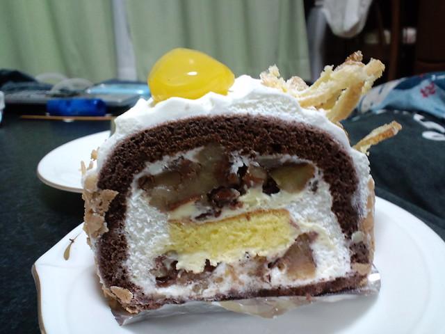Photo:Chou Chou 栗のロールケーキ(Maron Rolled Cake) By alphalead