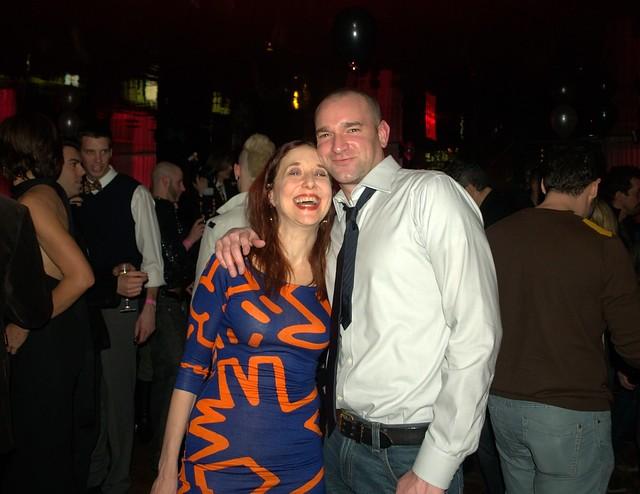 Lisa Levy and David Shankbone