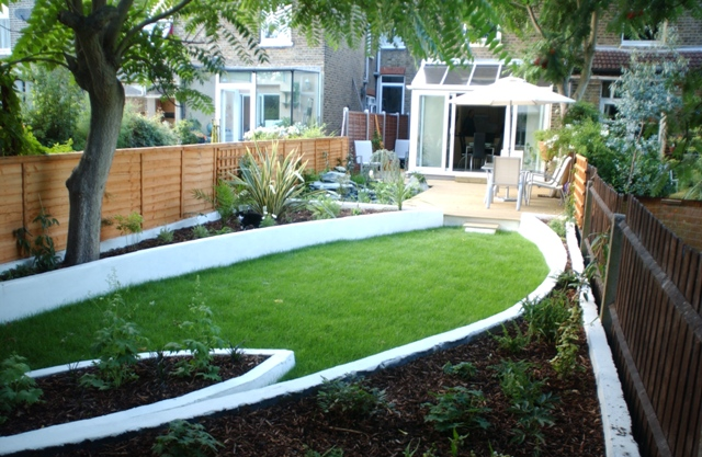 The terrace house garden by earth designs london garden design and - Garden design terraced house ...