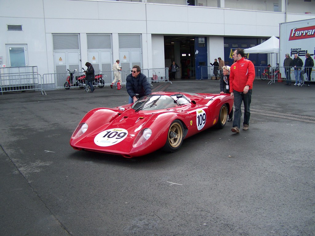 Old racing Ferrari - a photo on Flickriver