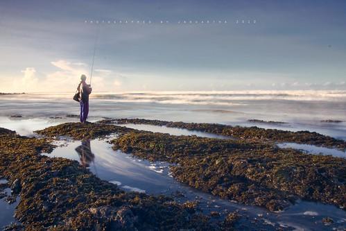 longexposure bali sunrise canon fisherman coastal tamron pantai tabanan 1750mm 0700am 450d flickraward sokabeach
