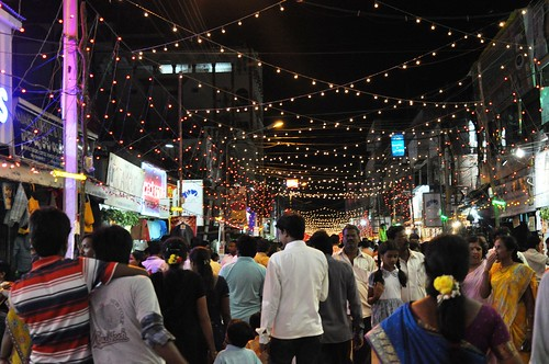 Ganesh Festival Lights