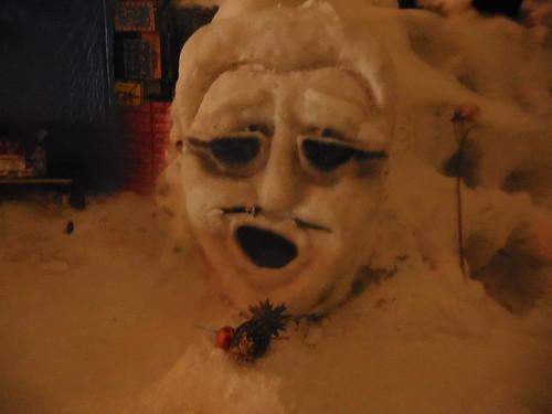意味がわかんない雪像が多かったけどこれだけ意味わかった