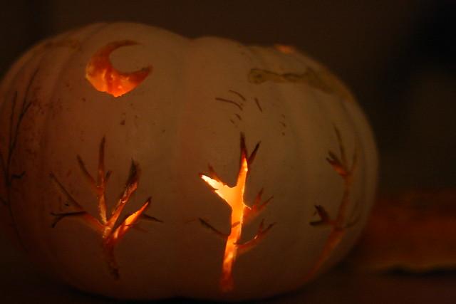 magic white pumpkin