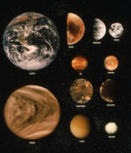 photos of planets and moons - photo #12