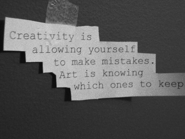 Creativity vs. Art.