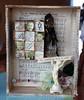 Silver Bella Cigar Box Assemblage by Alanna George