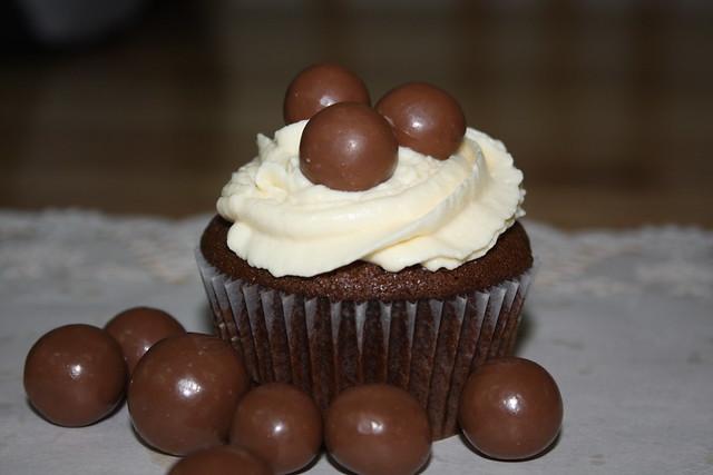 Martha Stewart : chocolate malt cupcake | Flickr - Photo Sharing!