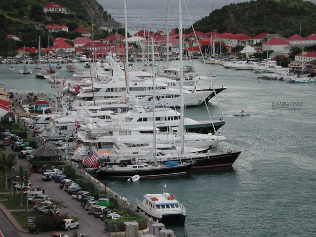 The dock at gustavia