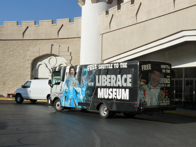 free shuttle to the liberace museum las vegas flickr photo sharing. Black Bedroom Furniture Sets. Home Design Ideas