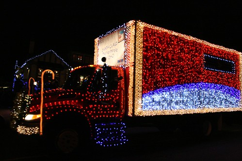 Victoria Truck Light Parade 2009 by Lloyd Dewolf