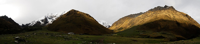 Panoramic from the Salkantay Trail