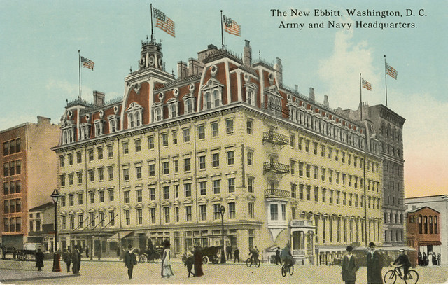 The New Ebbitt - Washington, DC (Flickr user StreetsofWashington)