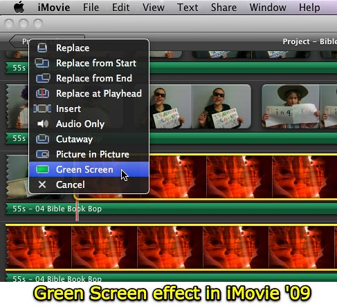 Creating Special Effects In Imovie 09