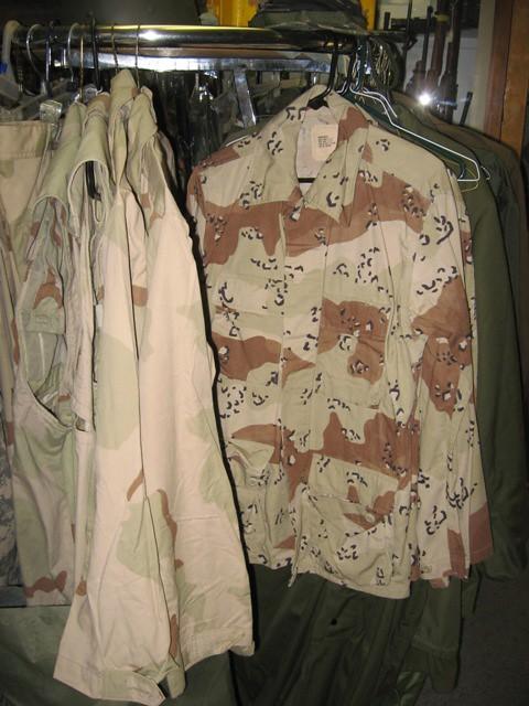 Military Uniform Surplus Store