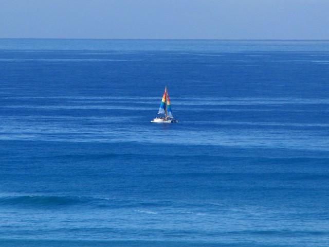 Waikiki - Sailboat
