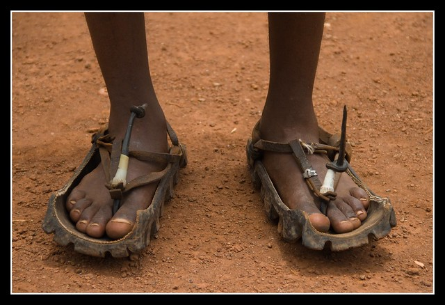 Masai Shoes A Lot Of People In Tanzania And In Other
