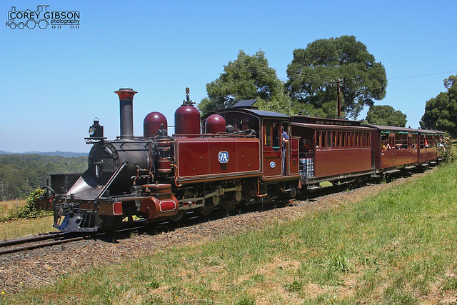 Puffing Billy Railway - 7A