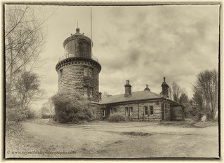 """Bidston Lighthouse Aged with Time"""