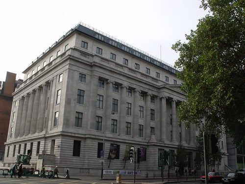 The Wellcome Building, Euston Road, London