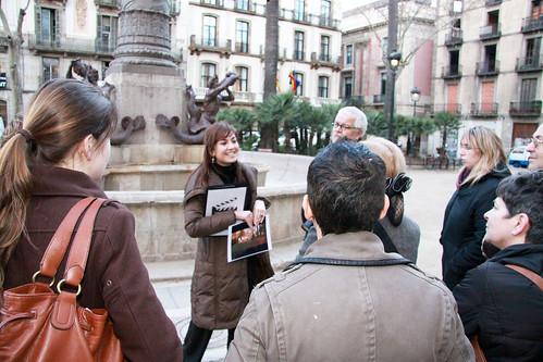ruta Barcelona de cine - Plaça Duc de Medinaceli