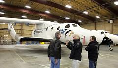 VSS Enterprise Unveiled in Mojave,CA. Credit Mark Greenberg