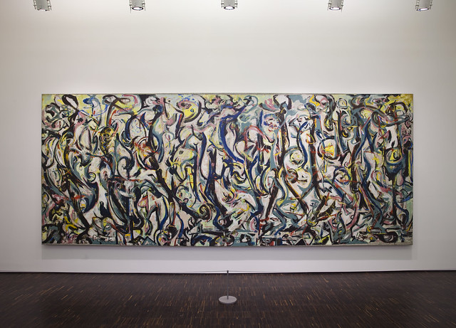 Jackson pollock mural flickr photo sharing for Mural jackson pollock
