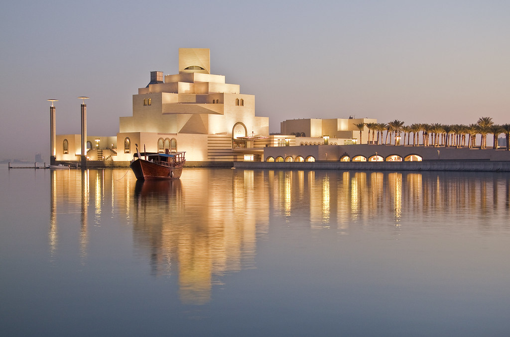 Museum of Islamic Art at sunrise