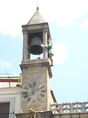 landmark, church bell, bell, bell tower, clock tower, place of worship, tower,