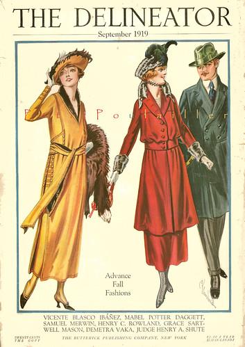 PetitPoulailler 1919 Delineator Magazine (Butterick) Cover