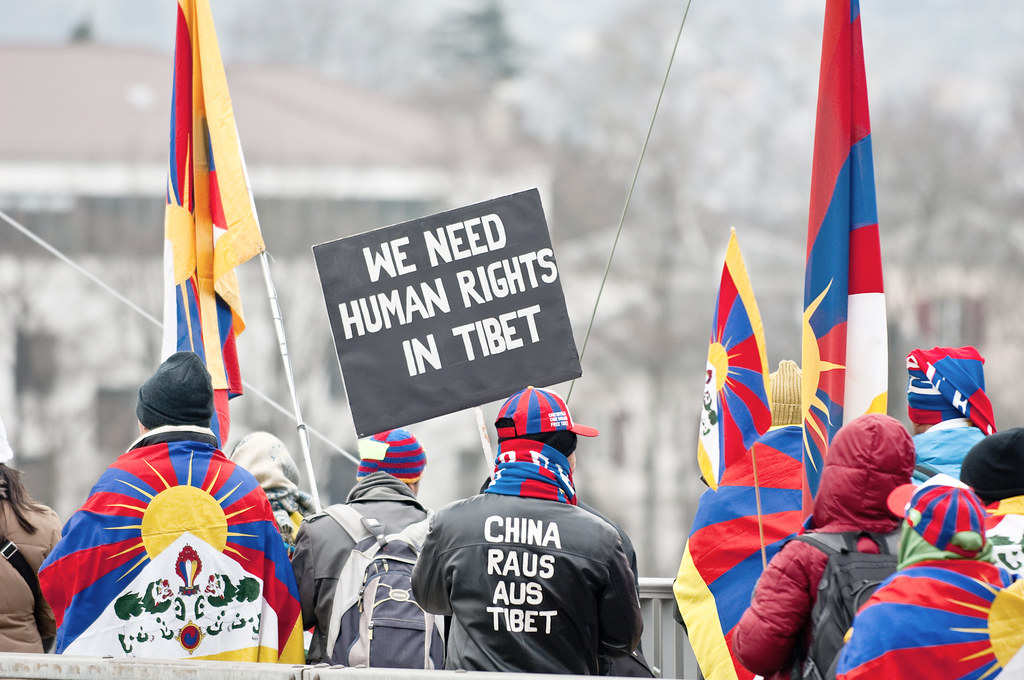 We Need Human Rights In Tibet