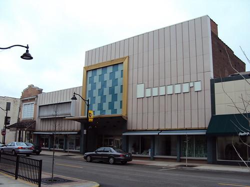 Modern Main Street Facades - Belleville Illinois
