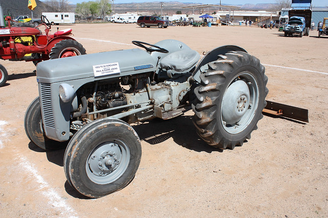 1952 Ferguson Tractor : Ferguson one of several tractors that belong to